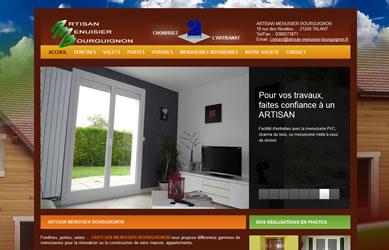 des exemples de cr ation de sites internet r alis s pour des entreprises sur dijon en c te d 39 or. Black Bedroom Furniture Sets. Home Design Ideas